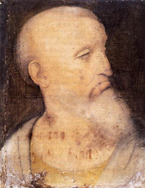 Head of St. Andrew - Leonardo da Vinci