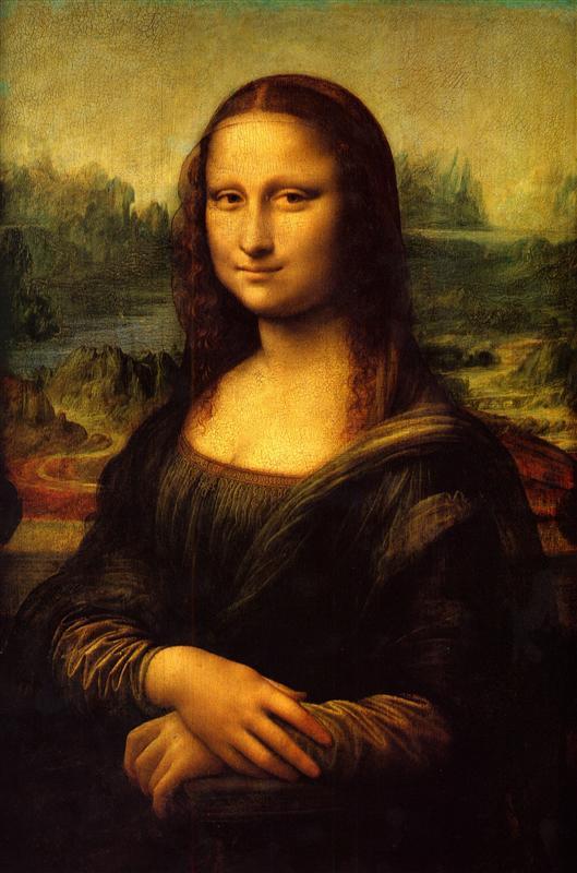 Davinci's Mona Lisa