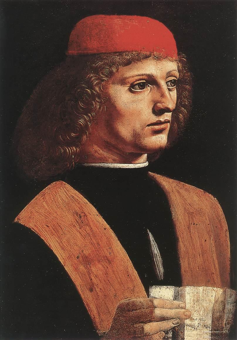 Portrait of a Musician, 1485