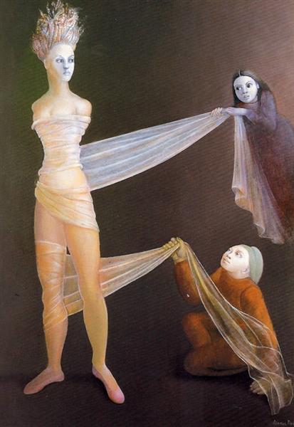 Cariatide délivrée, 1986 - Leonor Fini