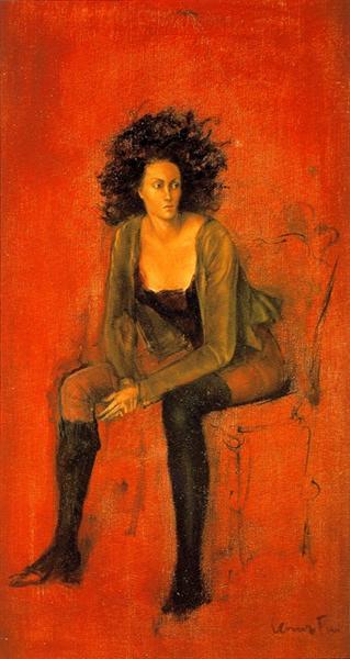 Portrait de Meret Oppenheim, 1938 - Leonor Fini