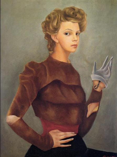 Self Portrait with Scorpion, 1938 - Leonor Fini
