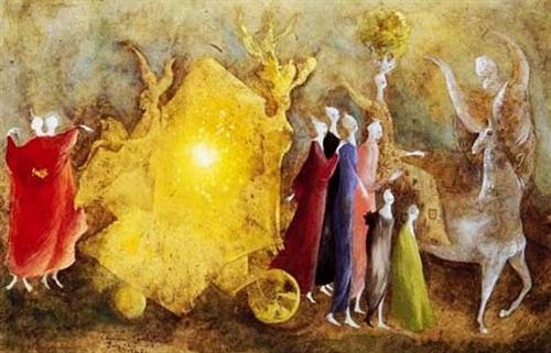 Amor che move il Sole et l'altre Stelle - Leonora Carrington
