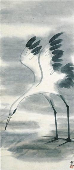 Egret - Lin Fengmian