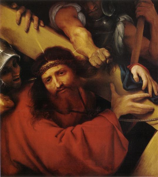 Christ Carrying the Cross, 1526 - Lorenzo Lotto