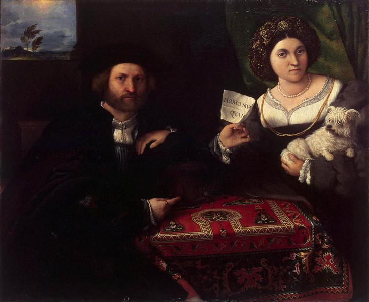 Husband and Wife, 1523 - Lorenzo Lotto