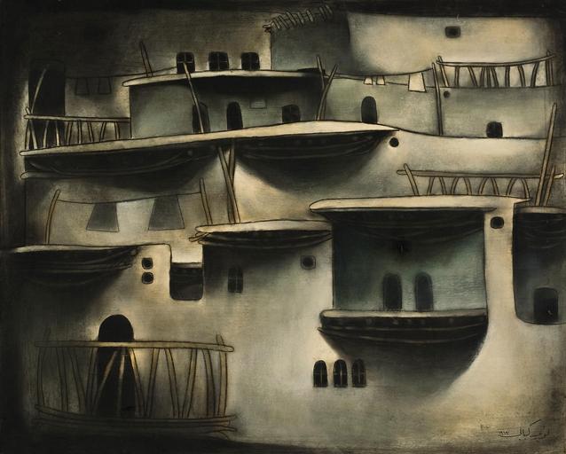 Maaloula, 1969 - Louay Kayyali
