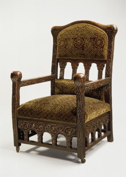 Armchair, 1892 - Louis Comfort Tiffany