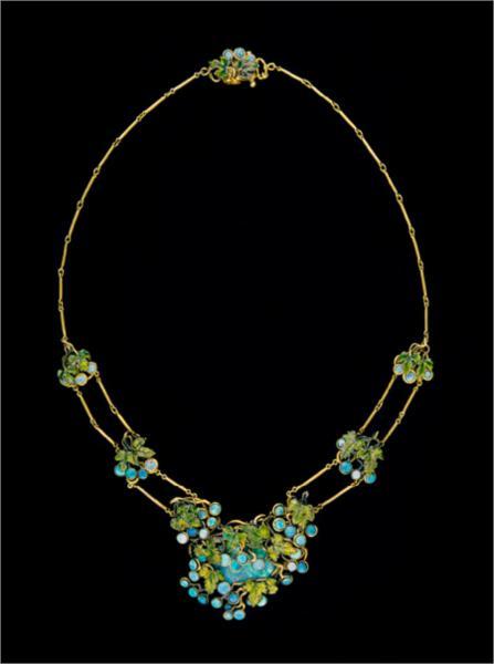 Necklace, 1904 - Louis Comfort Tiffany