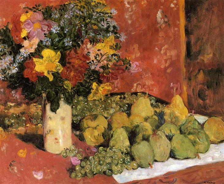 Flowers and Fruit, 1899 - Louis Valtat