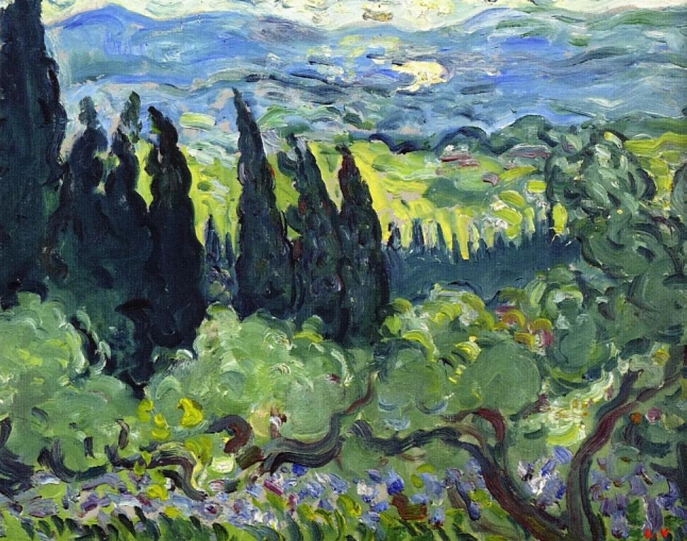 italian landscape with ox - photo #39