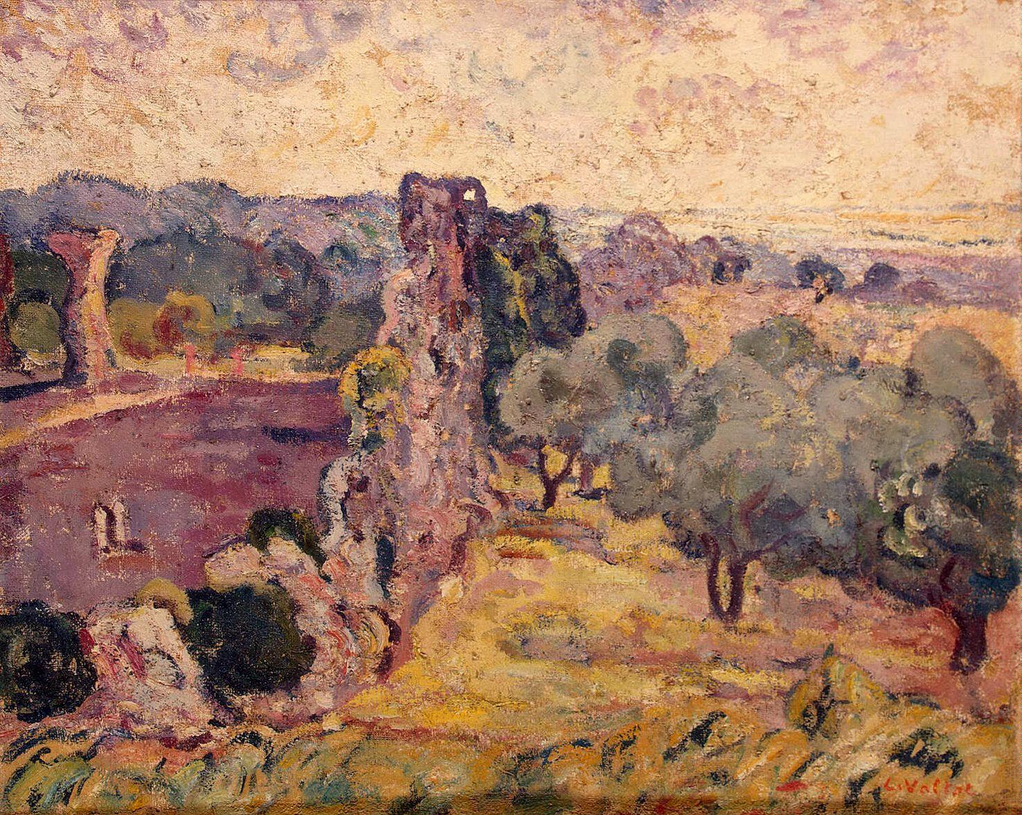 Landscape Of The South Of France C 1908 Louis Valtat