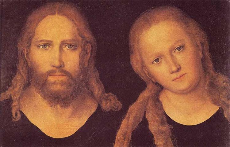 Christ and Mary, 1516 - 1520 - Lucas Cranach der Ältere