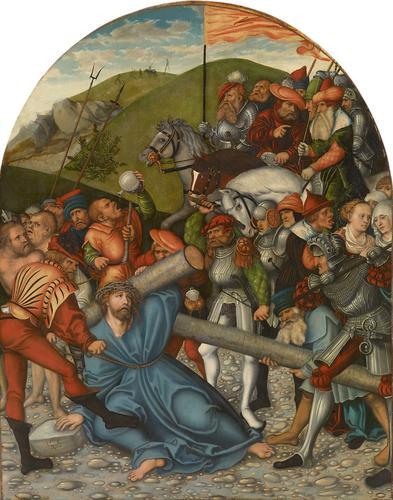 Christ Carrying the Cross, 1538 - Lucas Cranach der Ältere