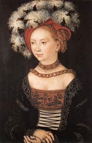 Portrait of a Young Woman - Lucas Cranach the Elder