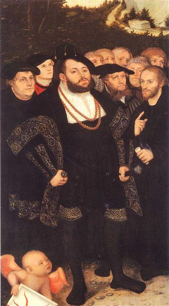 Reformators, c.1535 - Lucas Cranach der Ältere