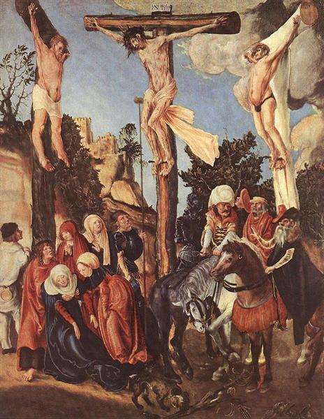 The Crucifixion, 1503 - Lucas Cranach der Ältere