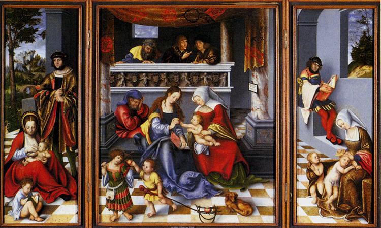 The Holy Family, 1509 - Lucas Cranach der Ältere