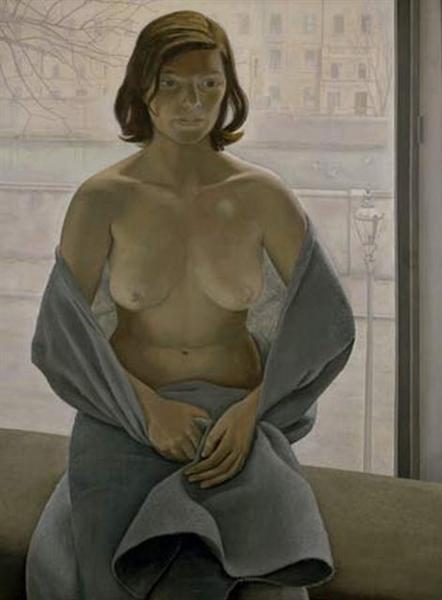 Girl in a Blanket, 1953 - Lucian Freud