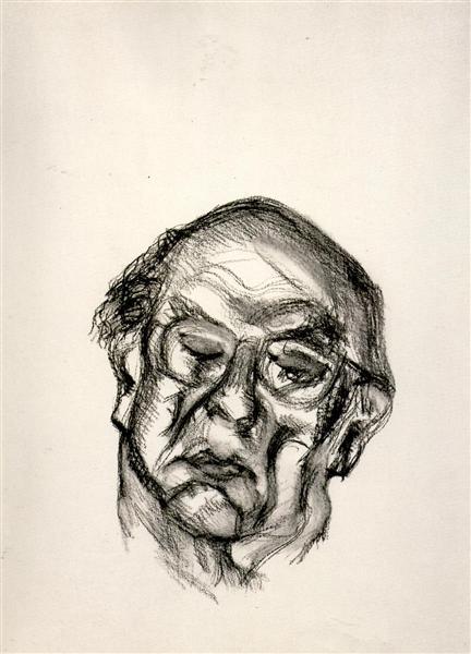 Isaiah Berlin, 1997 - Lucian Freud
