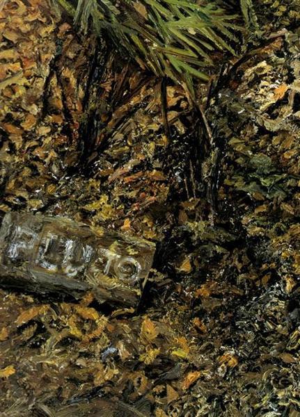Pluto's Grave, 2003 - Lucian Freud
