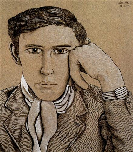 Portrait of a Young Man - Lucian Freud