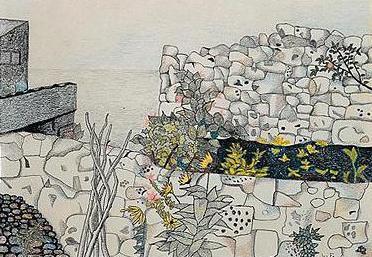 Seaside Garden, 1944 - Луціан Фройд