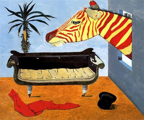 The Painter's Room - Lucian Freud