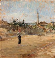 Dobrudjan Street - Lucian Grigorescu
