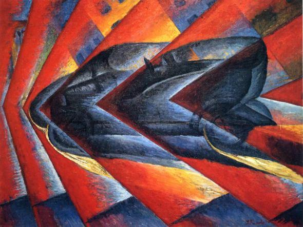 Dynamism of a Car, 1913 - Luigi Russolo