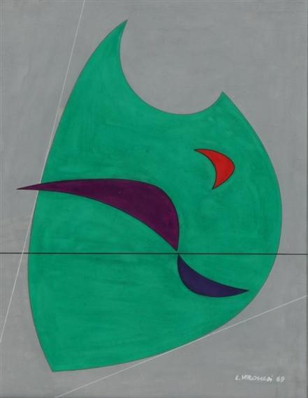 Composizione P13, 1969 - Luigi Veronesi
