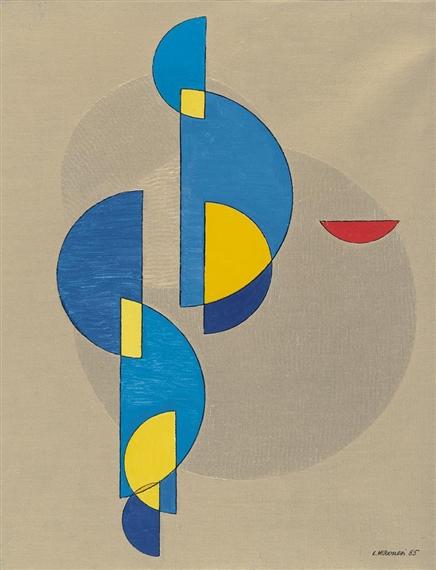 Costrizione WUH6, 1985 - Luigi Veronesi