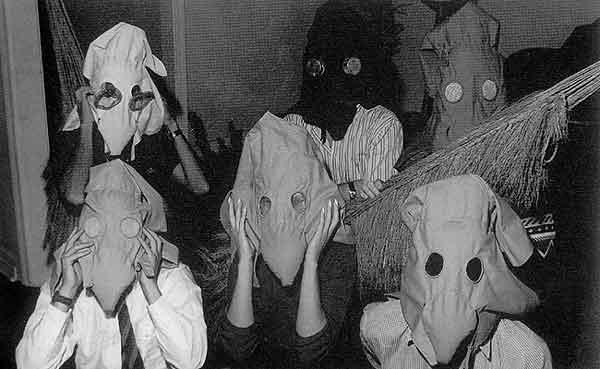 Máscaras sensoriais, 1967 - Лігія Кларк