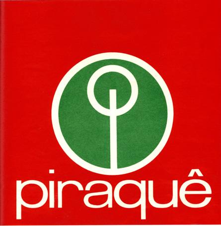 Logo Piraquê, 1970 - Lygia Pape