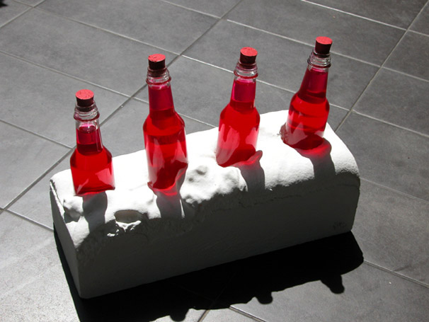 Red Bottles, 2001 - Lygia Pape