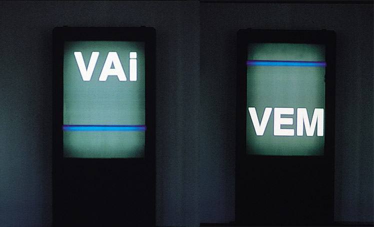 Seduction II (Vem / Vai) - Lygia Pape