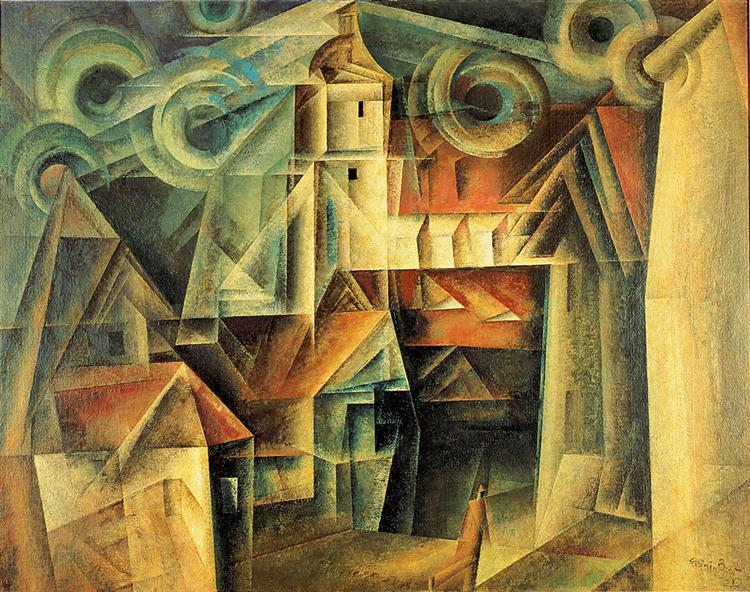 Lyonel Feininger The-cathedral-1920.jpg!Large