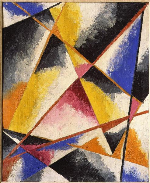 Untitled Compositions, c.1916 - Lyubov Popova