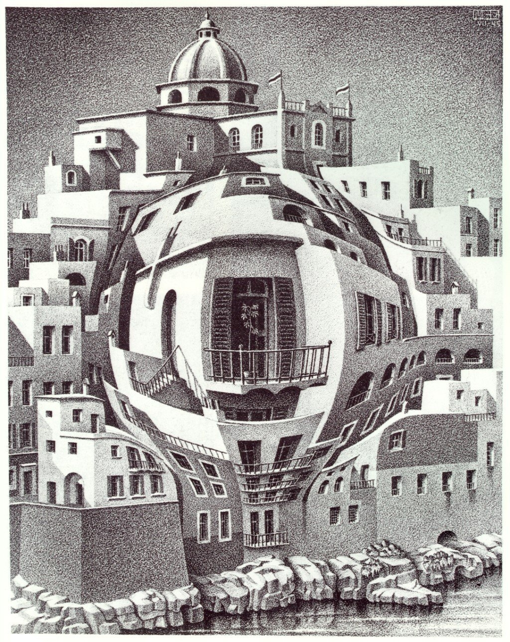 Arts review the amazing world of mc escher tychy for Mc escher gallery