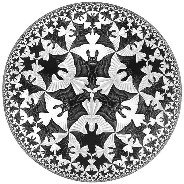 Circle Limit IV, 1960 - M.C. Escher