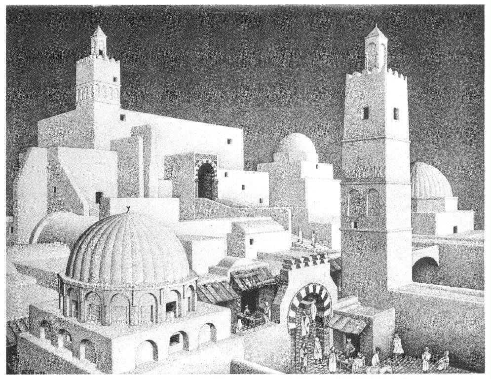 Kairouan Tunisia Kairouan Tunisia M.c Escher