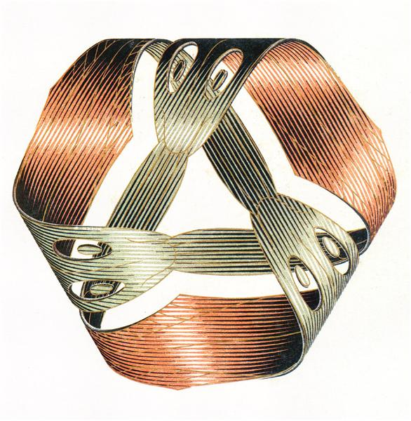 Moebius Strip I, 1961 - M.C. Escher