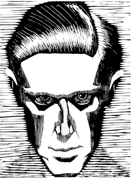 Self Portrait, 1919 - M.C. Escher