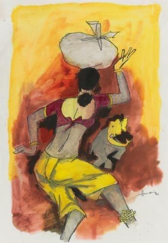 M F Husain brush with immortality - Society & The Arts