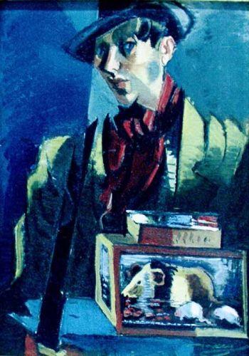 Organ-grinder, 1940 - M. H. Maxy