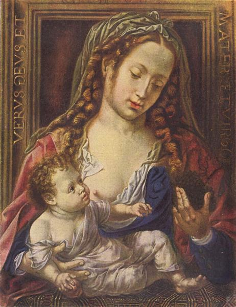 Madonna and Child, c.1515 - Mabuse