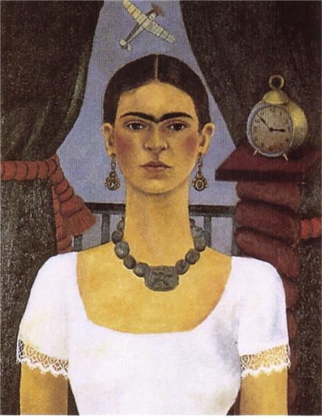 Self Portrait - Time Flies, 1929 - Frida Kahlo