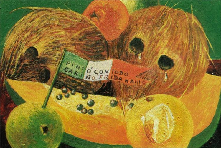 Weeping Coconuts or Coconut Tears, 1951 - Frida Kahlo