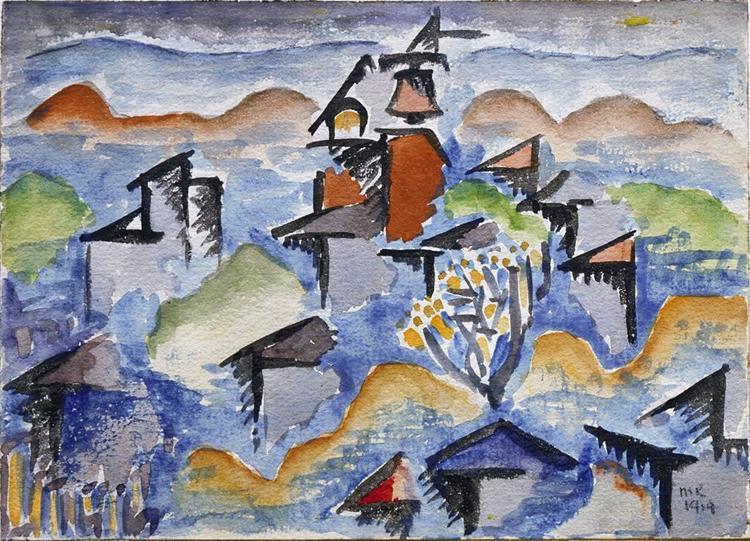 Landscape, 1914 - Man Ray
