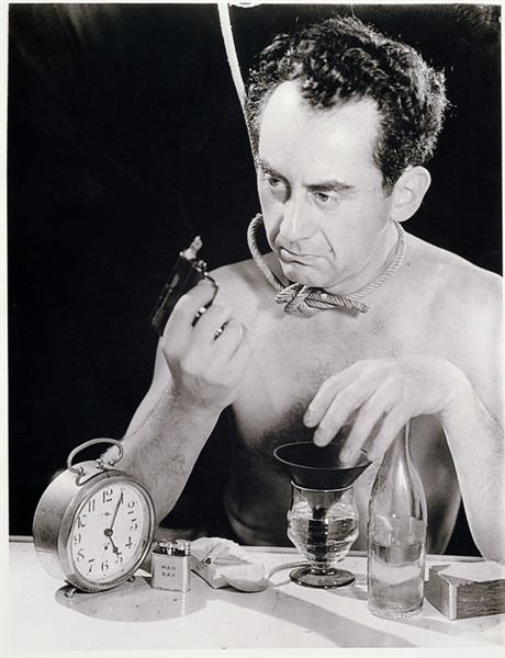 Self-Portrait with Gun, 1932 - Man Ray